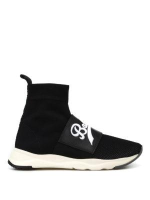 30%OFF. Balmain  sneakers - Sneaker Cameron a calza nere e bianche e7a0a89acd6