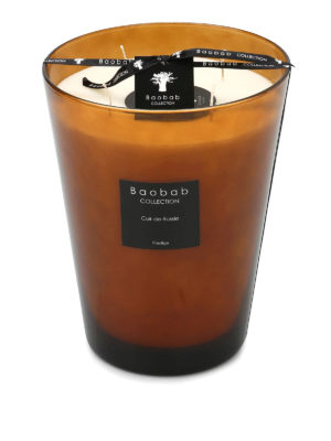 Baobab: Home fragrance - Cuir de Russie perfumed candle