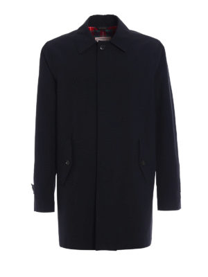 Baracuta: short coats - G10 dark navy raincoat