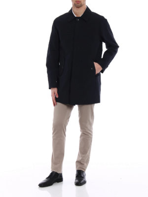 Baracuta: short coats online - G10 dark navy raincoat