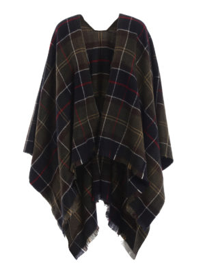 BARBOUR: Mantelle e poncho - Mantella Staffin Tartan