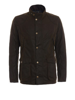 Barbour: casual jackets - Leeward wax jacket