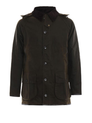 BARBOUR: giacche casual - Giacca Longhurst in cotone cerato