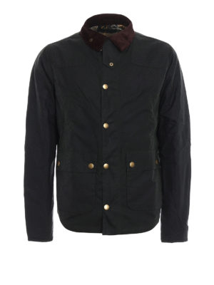 Barbour: casual jackets - Reelin wax jacket