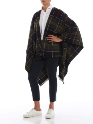 BARBOUR: Mantelle e poncho online - Mantella Staffin Tartan