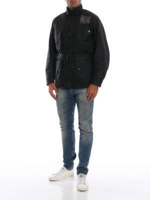 BARBOUR: giacche casual online - Giacca Joshua in cotone cerato con cintura