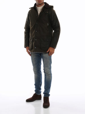 BARBOUR: giacche casual online - Giacca Longhurst in cotone cerato