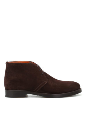 Barrett: ankle boots - Colin brown suede desert boots