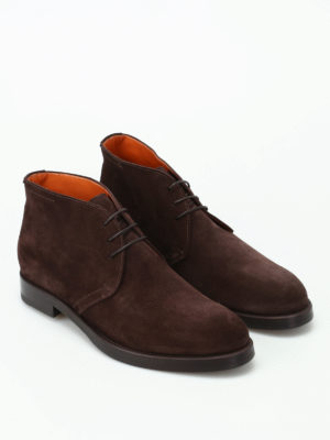 Barrett: ankle boots online - Colin brown suede desert boots