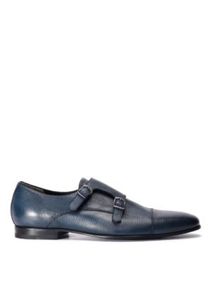 Barrett: classic shoes - Leather monk-straps