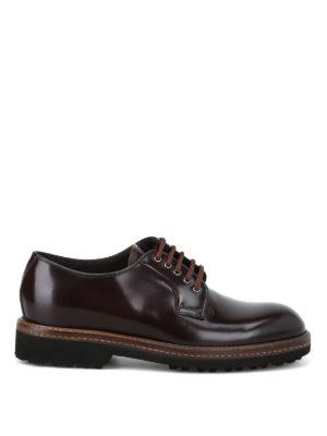 BARRETT: scarpe stringate - Derby ultraleggere in pelle spazzolata