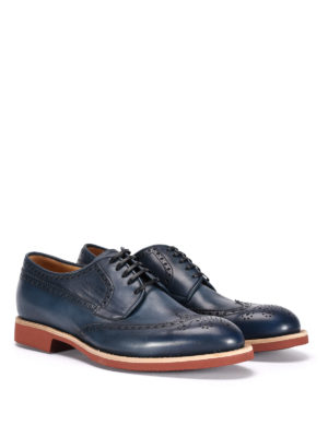 Barrett: lace-ups shoes online - Shaded leather Derby brogue