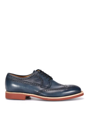 Barrett: lace-ups shoes - Shaded leather Derby brogue