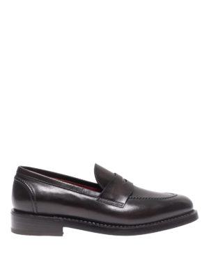 BARRETT: Mocassini e slippers - Mocassini in pelle spazzolata