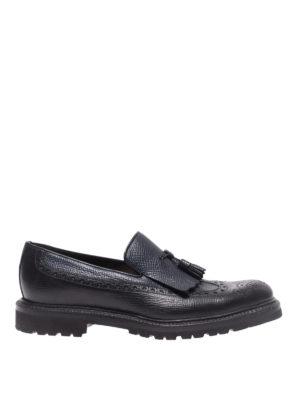 BARRETT: Mocassini e slippers - Mocassini in pelle con nappina