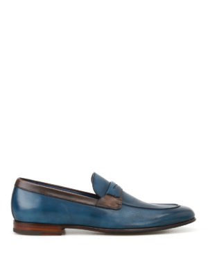 Barrett: Loafers & Slippers - Leather two-tone loafers