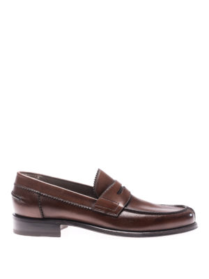 Barrett: Loafers & Slippers - Lord brown leather loafers