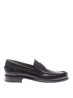 Barrett: Loafers & Slippers - New Box black leather loafers