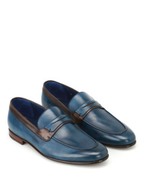Barrett: Loafers & Slippers online - Leather two-tone loafers