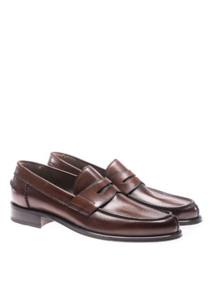 Barrett: Loafers & Slippers online - Lord brown leather loafers