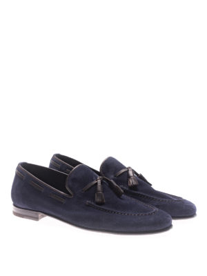 Barrett: Loafers & Slippers online - Veil blue suede loafers