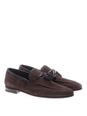 Barrett: Loafers & Slippers online - Veil dark suede loafers