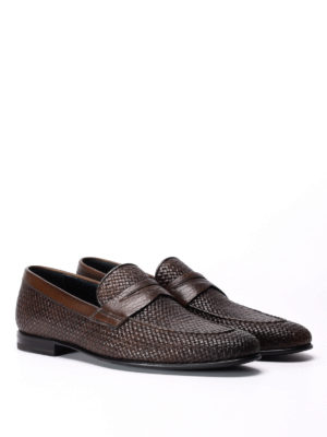 Barrett: Loafers & Slippers online - Woven leather loafers