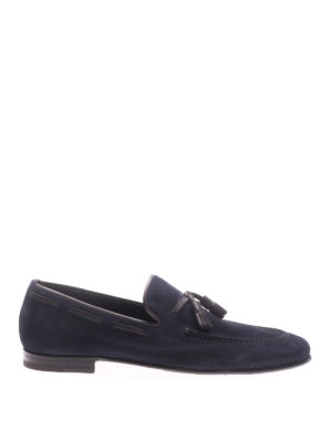 Barrett: Loafers & Slippers - Veil blue suede loafers