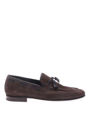 Barrett: Loafers & Slippers - Veil dark suede loafers