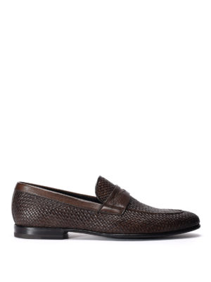 Barrett: Loafers & Slippers - Woven leather loafers