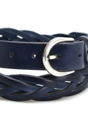 Belsire: belts online - Hand-woven leather belt