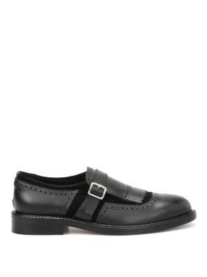Belsire: classic shoes - Brogue monk straps