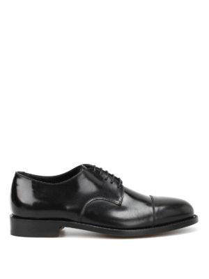 Belsire: classic shoes - Matte brushed leather Derby