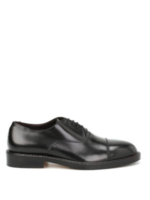 Belsire: classic shoes - Matte brushed leather Oxford