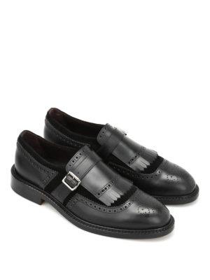 Belsire: classic shoes online - Brogue monk straps