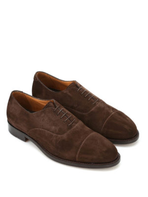 Belsire: classic shoes online - Suede Oxford shoes