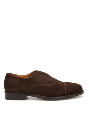 Belsire: classic shoes - Suede Oxford shoes