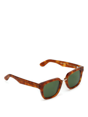 Belsire: sunglasses - Marcello light Havana sunglasses