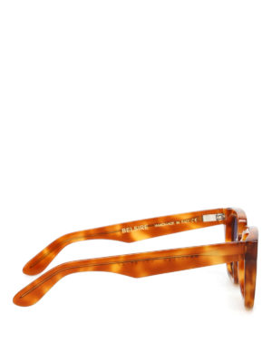 Belsire: sunglasses online - Marcello light Havana sunglasses