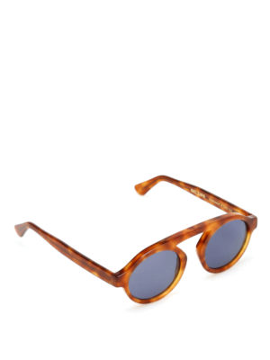Belsire: sunglasses - Robert light Havana sunglasses
