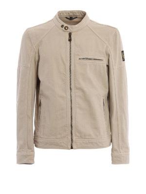 Belstaff: casual jackets - Beckford cotton canvas jacket