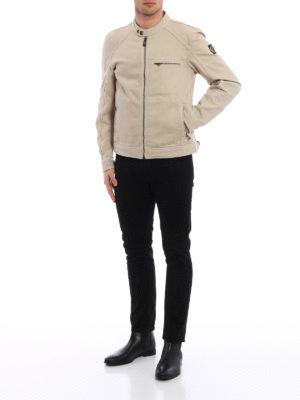 Belstaff: casual jackets online - Beckford cotton canvas jacket