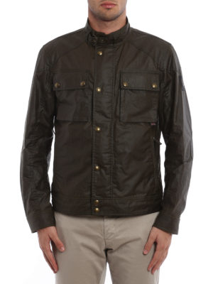 Belstaff: casual jackets online - Racemaster Blouson cotton jacket