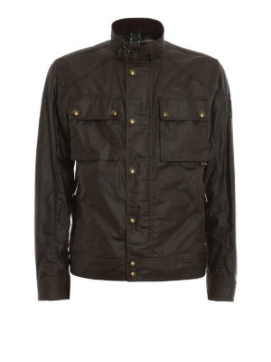 Belstaff: casual jackets - Racemaster Blouson cotton jacket