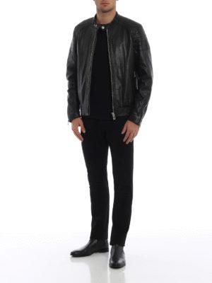 BELSTAFF: giacche in pelle online - Giubbotto biker in pelle Northcott