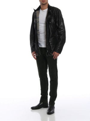 BELSTAFF: giacche in pelle online - Giubbotto Roadmaster con cintura