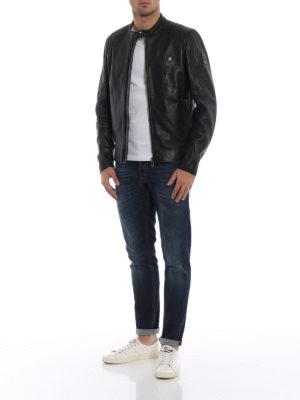 BELSTAFF: giacche in pelle online - Giubbotto Racer in morbida pelle