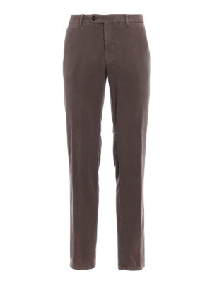 Berwich: casual trousers - Classic brown fustian trousers