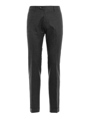 Berwich: casual trousers - Elegant wool chino trousers