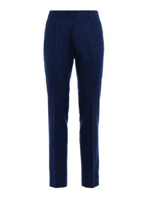 Berwich: casual trousers - Milano formal wool trousers